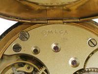 Omega Steel Open Face  Pocket Watch Swiss 1920 (3 of 6)
