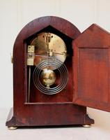 Mahogany Arch Top Mantel Clock (2 of 10)