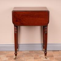 19th Century Mahogany Pembroke Work Table (4 of 13)
