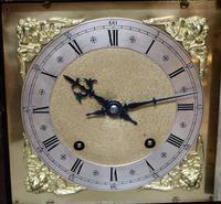 Solid Carved Oak Bracket Clock (7 of 11)
