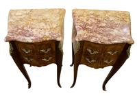 French Kingwood Bedside Cabinets (8 of 8)
