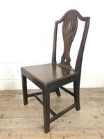 Set of Four Welsh Oak Farmhouse Chairs (7 of 10)