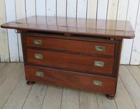 Antique French Drapers Chest of Drawers (12 of 13)