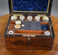 19th Century Rosewood Dressing / Jewellery Box (8 of 13)