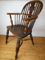 Early 19th Century Yew Windsor Chair (2 of 8)
