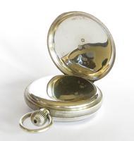Antique Silver Waltham Bond St Pocket Watch (3 of 5)