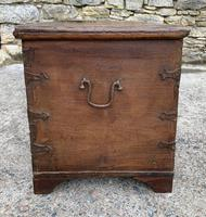 Large Antique Anglo Indian Trunk (8 of 26)