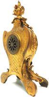 Impressive Candelabra Clock Set French Rococo Ormolu Bronze Mantel Clock. (8 of 10)