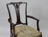 Antique Georgian Mahogany Armchair (2 of 8)