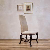 18th Century Ebonised & Upholstered Queen Anne Side Chair (13 of 13)