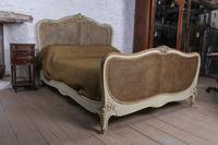 Lovely French King Size Caned Bed (6 of 9)