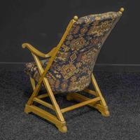 Arts & Crafts Oak Armchair (3 of 7)