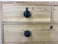 Victorian Antique Pine Chest of Drawers (5 of 10)