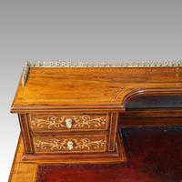 Edwardian Inlaid Rosewood Desk (7 of 11)