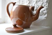 Large Late 19th Century Stoneware Teapot (7 of 9)
