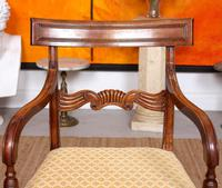 Armchair Fruitwood Desk Library Chair 19th Century Victorian Carved (10 of 11)