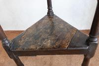 Late 17th or Early 18th Century Cricket Table in Unrestored Condition (7 of 7)