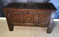 17th Century Oak Coffer (4 of 14)