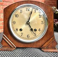 Wonderful 1940's English Chiming Mantel Clock by Garrard