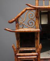 Impressive 19th Century Bamboo Cabinet (12 of 18)