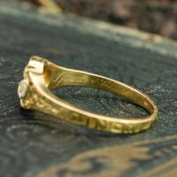 The Late Victorian Spencer of Charlotte 1892 Four Diamond Memory Ring (10 of 10)