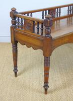 Good Aesthetic Mahogany Window Seat by Henry Pitts of Leeds (8 of 12)