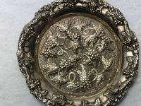 Early 20th Century Sheffield E.H.Parkin & Co Silver Plate Wine Coaster (7 of 9)