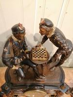 Superb Quality & Unusual French Clock Garniture (6 of 19)