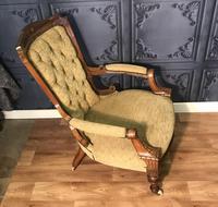 Quality Victorian Walnut Armchair (12 of 14)