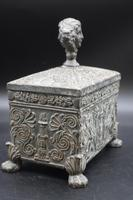 Beautifully Constructed Late 18th Century Rectangular Metal Box (2 of 6)