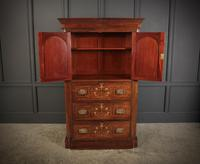 Marquetry Inlaid Rosewood Tallboy (7 of 12)