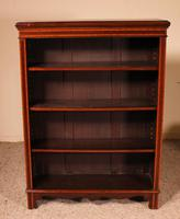 Open Bookcase in Mahogany and Inlays (7 of 13)
