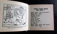 1934 1st Edition   Great Big Midget  Book by Louis Wain (3 of 5)