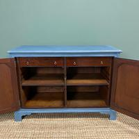 Victorian Country House Painted Antique Cupboard (7 of 7)