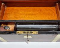 Antique 19th Century Miller Bristol & Clifton Military Writing Slope Large (9 of 12)