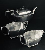 Vintage Silver Plated 3 Piece Tea Set