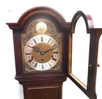 Grandmother Clock English Elliott Musical Longcase Clock with Dual Chimes c.1930 (12 of 16)