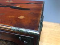 Antique Oriental Lacquered Table Cabinet (5 of 11)