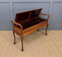 Mahogany Piano Duet Stool (5 of 8)