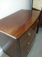 Victorian Bow Fronted Chest of Drawers (3 of 4)