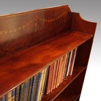 Edwardian Mahogany Open Bookcase (7 of 8)