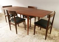 1960's mid century extending dining table and 4 chairs by Mcintosh (7 of 7)