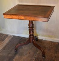 Georgian Mahogany Reading & Writing  Desk / Table (3 of 7)