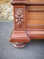 Large Antique French Walnut Armoire / Wardrobe (6 of 14)