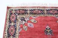 """Vintage / Retro Wool Rug ~ 8' x 4'6"""" Eastern (5 of 8)"""