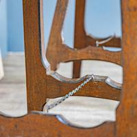 Pine & Oak Trestle Table (9 of 10)