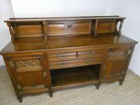 English Oak Sideboard by Gillows of Lancaster (15 of 15)