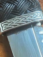 Vintage Scottish Silver Mounted Skean Dhu - Edinburgh 1955 - Thomas Kerr Ebbutt (11 of 14)