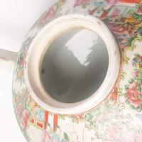 19th Century Cantonese Femille Rose Large Tea Pot (11 of 12)