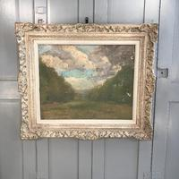 Antique Impressionist study in oil on canvas by Albert de Belleroche (2 of 11)